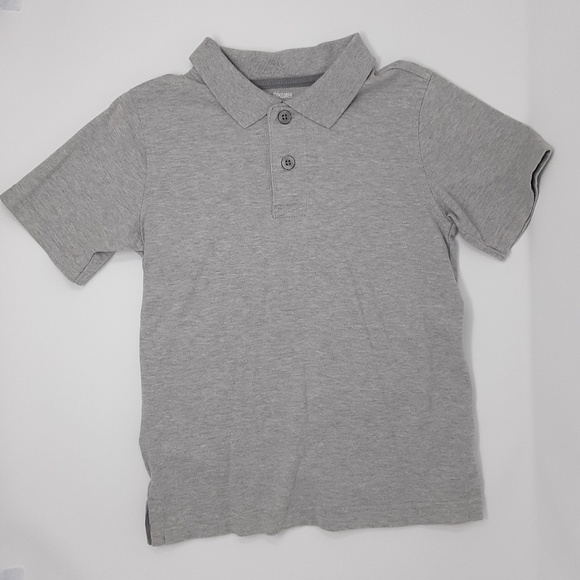 Gymboree Other - Gymboree Gray Short Sleeve Polo Shirt Boy's Size 5